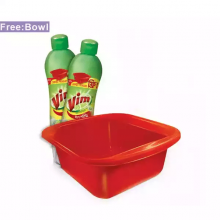 Vim Dishwashing Liquid Multi Pack (Free Bowl) 500ml