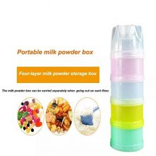 Born Babies® Multipurpose Portable Milk Powder & Food Storage Container for Newborn Baby