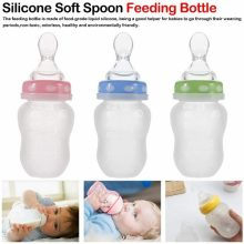 Hopop Soft Squeezy Silicone Spoon Food Feeder