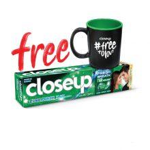 Closeup Toothpaste Menthol Fresh (Mug Free) 160gm