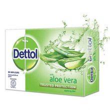 Dettol Soap Aloe Vera Bathing Bar Soap 75gm
