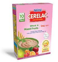 Nestlé Cerelac 3 Wheat & Mixed Fruits 10 month 400 gm