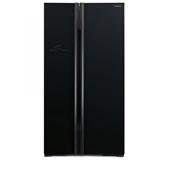 Hitachi Side By Side Refrigerator | R-S800P2PB-GBK | 659L