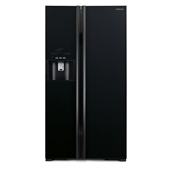 Hitachi Side by Side Refrigerator | R-S800GP2PB-GBK | 651 L
